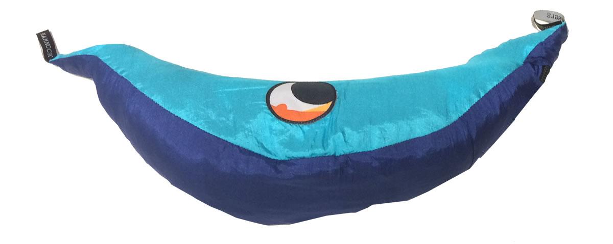 Hamac de voyage L bleu-turquoise