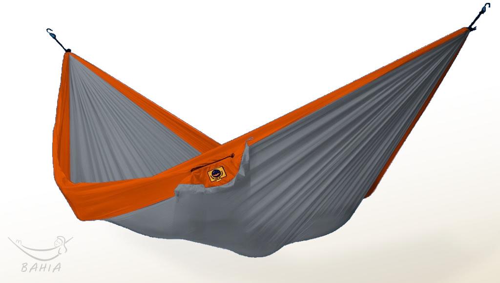 Hamac de voyage L gris-orange