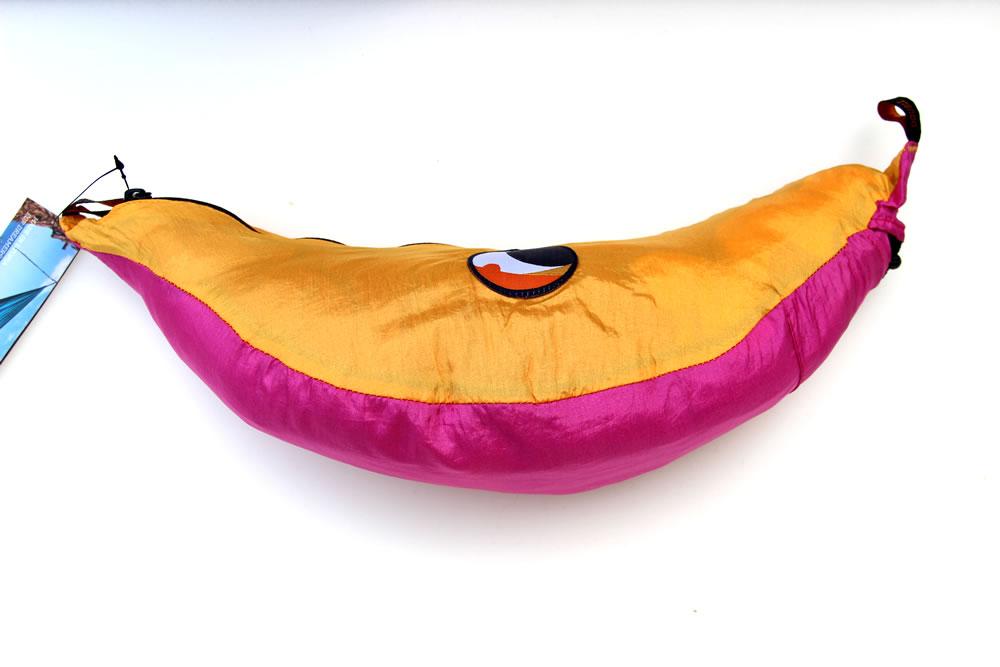 Reisehängematte XL pink-gelb