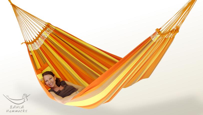 Hängematte Terra orange XL