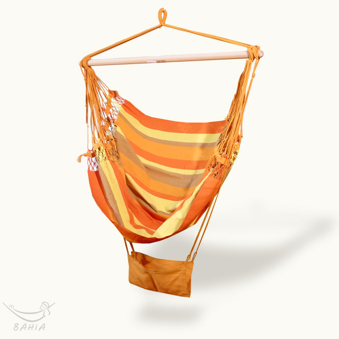 Hamaca-silla Terra orange
